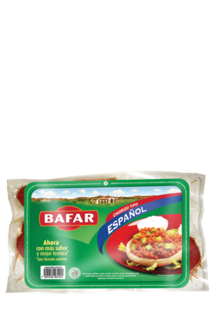 Chorizo Tipo Español