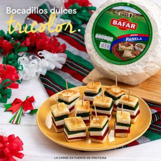 Bocadillos Tricolor
